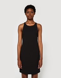 Stelen Cross Back Tank Dress Black