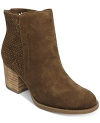 Madden Girl Fayth Booties Women's Shoes Brown