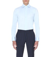 Hugo Boss Regular Fit Cotton Shirt Light Pastel Blue