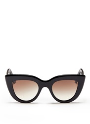 Ellery X Graz 'Quixote' Acetate Cat Eye Sunglasses
