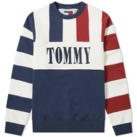 Tommy Jeans Heritage Stripe Crew Sweat Multi