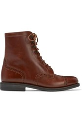 Ludwig Reiter Mary Vetsera Leather Ankle Boots Brown