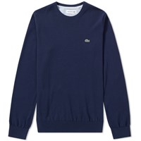 Lacoste Classic Crew Knit Blue