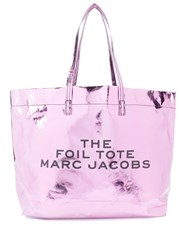 Marc Jacobs The Foil Tote Pink