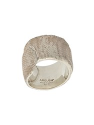 Ambush Band Aid Ring Silver