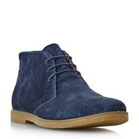 Linea Coop Casual Lace Up Boots Navy
