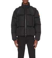 Moncler X Off White Quilted Padded Jacket Black