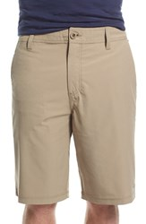 Men's O'neill 'Loaded' Hybrid Walking Shorts Khaki