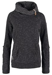 Ragwear Deena Sweatshirt Black Mottled Black