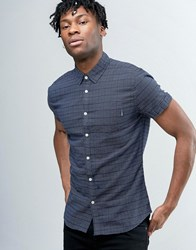 Pepe Jeans Short Sleeve Shirt Navy