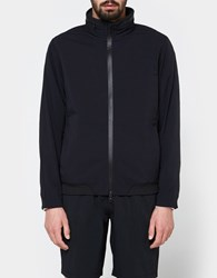 Reigning Champ Stow Away Hood Jacket Stretch Nylon In Black