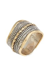 Women's Konstantino 'Hebe' Wavy Etched Band Ring