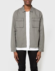 Native Youth Lieutenant Shacket Light Olive