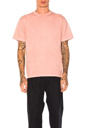 Maiden Noir Natural Dyed Block Tee Coral