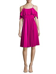 Cynthia Steffe Cece Solid Cold Shoulder Dress