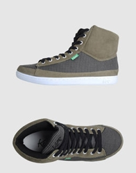 Keep High Top Sneakers Khaki