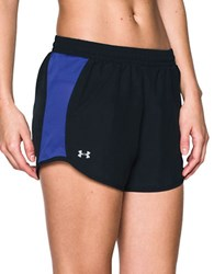 Under Armour Fly By Running Shorts Blk Cnp Re