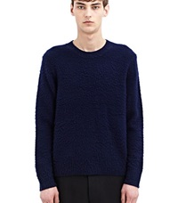 Acne Studios Peele Cashmere Wool Sweater Navy