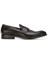 Henderson Fusion Classic Penny Loafers Brown