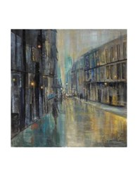 Marmont Hill Metro Lights I Painting Print On Wrapped Canvas Grey