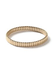 Topman Gold Look Stretch Bracelet Silver