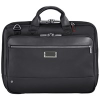 Briggs And Riley Atwork Medium Briefcase Black