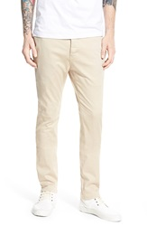 Barney Cools 'B. Line' High Rise Chino Pants Stone