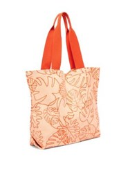 Ban.Do Monstera Leaf Print Canvas Tote No Color
