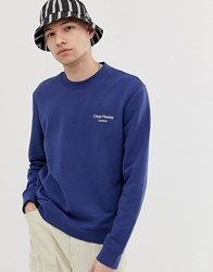 Cheap Monday Sweatshirt With Logo In Blue