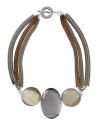 Giorgio Armani Necklaces Grey