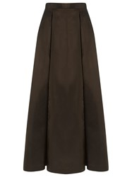 Gloria Coelho Long Skirt Brown