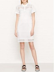 Tommy Hilfiger Aspen Short Sleeve Polo Dress White