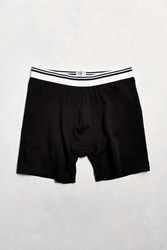 Urban Outfitters Uo Basic Boxer Brief Black