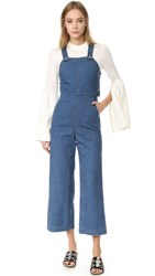 Suno Denim Jumpsuit Indigo