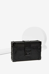 Nasty Gal Croc On Lock Crossbody Bag