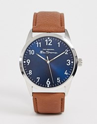 Ben Sherman Watch With Brown Leather Strap Bs143