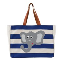 Atozgreek Elephant Tote Bag Multi