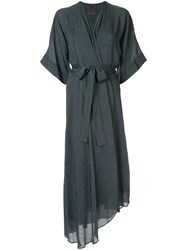Ginger And Smart Panacea Wrap Dress Blue