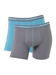 Sloggi 2 Pack Match Short Trunk Navy