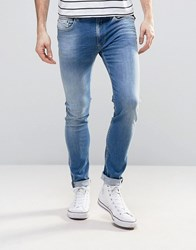 Replay Jondrill Skinny Fit Jean Light Wash 93A950 Blue