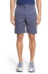 Men's Bobby Jones 'Tech' Flat Front Wrinkle Free Stripe Golf Shorts Summer Navy