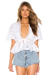 Lovers Friends Thea Top White