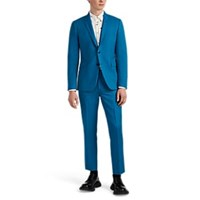 Paul Smith Kensington Wool Two Button Suit Lt. Blue