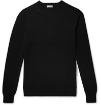 Margaret Howell Cotton And Cashmere Blend Sweater Black