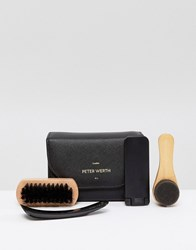 Peter Werth Shoe Shine Kit Black
