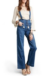 Women's Free People 'Penrose' Flare Overalls