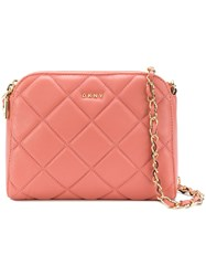 Donna Karan Barbara Shoulder Bag Pink And Purple