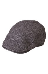 Goorin Bros. Men's Brothers 'High Road' Driving Cap Black Charcoal