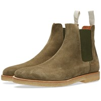Common Projects Chelsea Boot Suede Green
