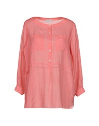 Rosso35 Blouses Pastel Pink